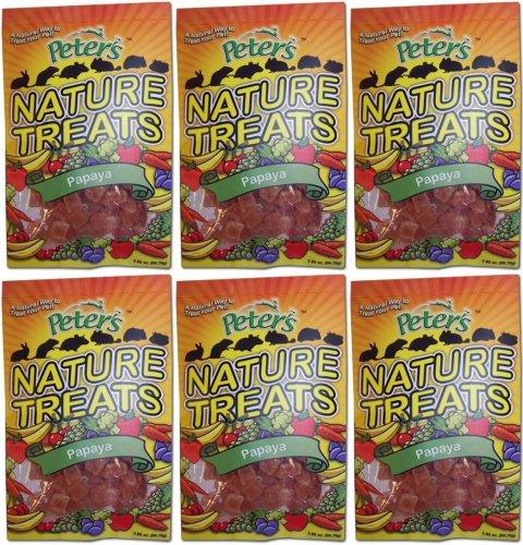 Marshall Peter's Nature Treats, Papaya Pieces 1.07Lb (6 x 2.85oz)