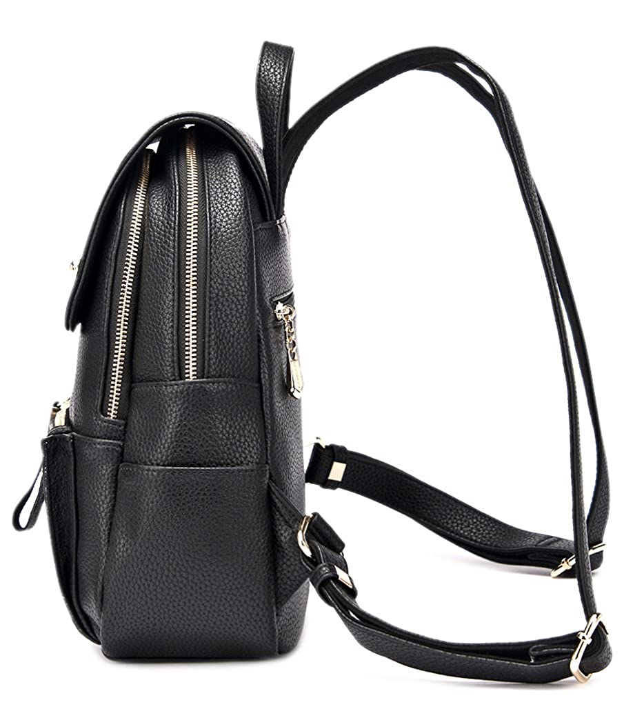 55e5db09269 Ghlee New Fashion Simple Korean Shoulder Bag Ladies Backpack College Wind  Large Capacity Casual Travel Bag Black  Amazon.co.uk  Shoes   Bags