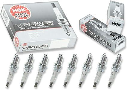 NGK V-Power – Juego de bujías Jeep Grand Cherokee (modelos de 93 – 96 5,2l V8 Kit Set Tune: Amazon.es: Coche y moto