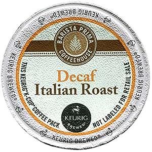 Barista Prima Coffeehouse 6624 Decaf Italian Roast Coffee K-Cups, 24/box