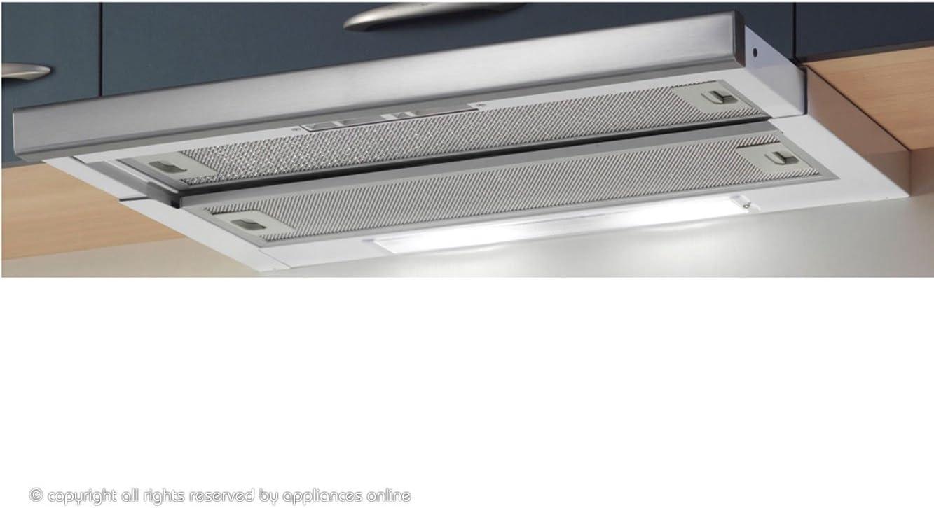 Baumatic 60 cm barra telescópica de acero inoxidable de olla a de la capilla TEL06SS: Amazon.es: Grandes electrodomésticos