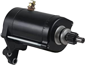 Rareelectrical NEW STARTER COMPATIBLE WITH YAMAHA MOTORCYCLE XV1600A XV1600AS 4WM-81890-00-00 4WM818900100