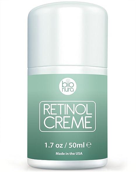 creme visage au retinol