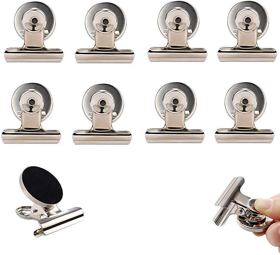Perfect Magnetic Clip Kitchen Refrigerato 10pcs Strong Fridge Magnet Hook Clips