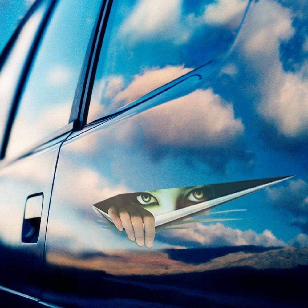 Zacoo 2 Pcs Blind Spot Mirror 2 Round Adjustable HD Glass Convex Rear View Mirror No Border Explosion Proof Film