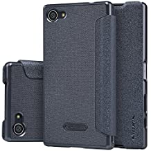 Nillkin Sony Xperia Z5 Compact Sparkle Leather Case-Retail Packaging, Black