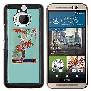 Stuss Case / Funda Carcasa protectora - Hombre Árbol caída del otoño de Brown del trullo - HTC One M9+ M9 Plus