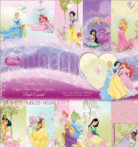 EK Success Disney Specialty Paper Pad, Princess