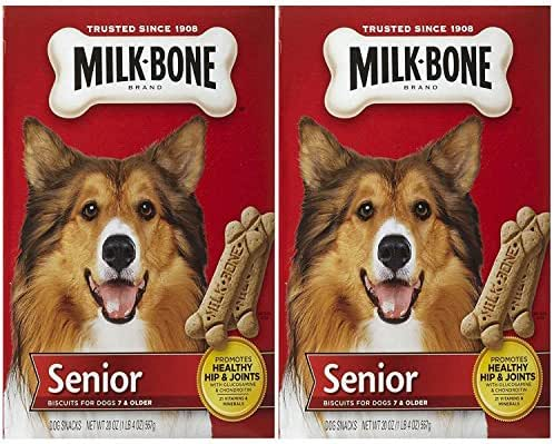 Dog Treats: Milk-Bone Original Biscuits Senior