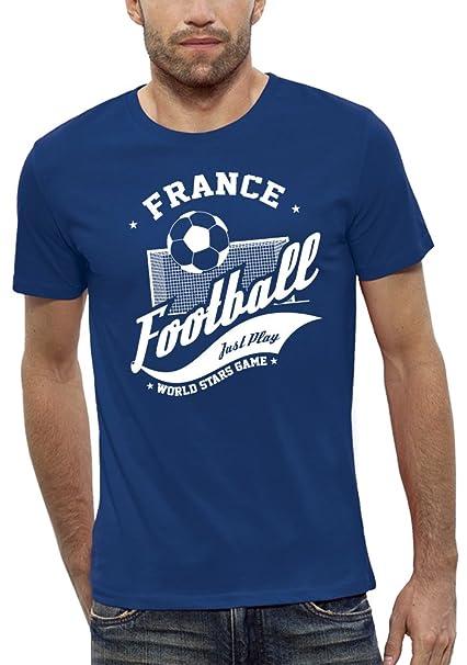 PIXEL EVOLUTION Camiseta 3D FÚTBOL Francia en Realidad Aumentada Hombre: Amazon.es: Ropa y accesorios