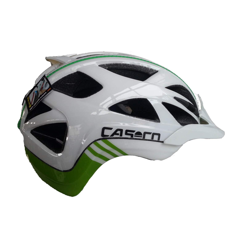 Casco Erwachsene Active 2 Fahrradhelm weiß-grün S