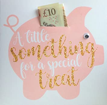 Piggy Bank Money Wallet For Cash Gifts Gift Card Birthday