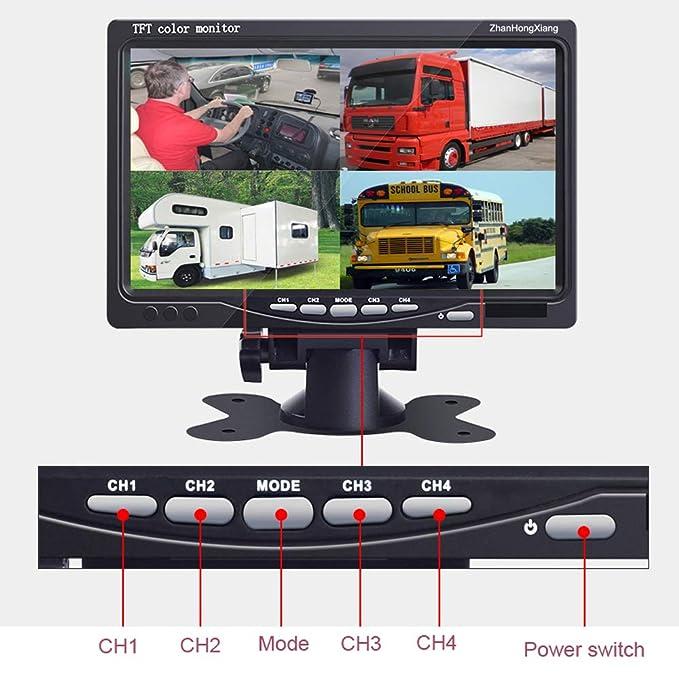 Amazon.com: Kit de monitor de cámaras de seguridad para ...