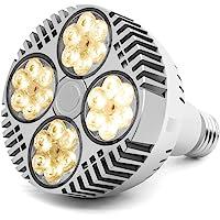 35W LED Grow Light Bulb, Grow Lights for Indoor Plants, CANAGROW E26 Full Spectrum Plant Grow Light Bulb, Growing Light…