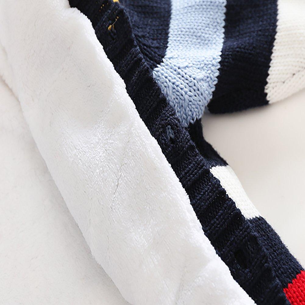 MOMOLAND Baby Rompers Onesies Sweater Hoodies Stripe Reindeer Jumpsuit Outfit Gift