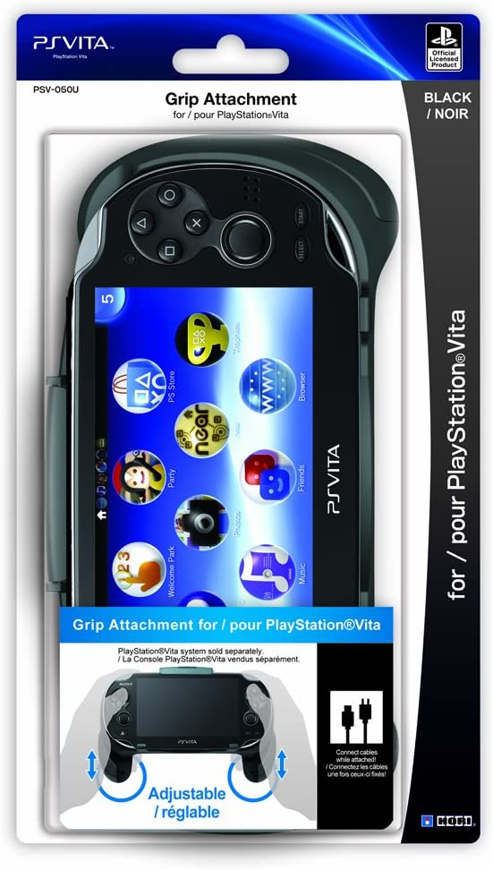 Amazon.com: HORI PS Vita Grip Attachment: Video Games