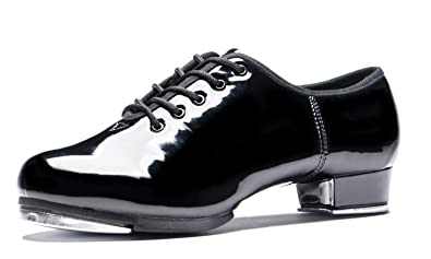 BeiBestCoat Split Sole Tap Shoes Patent Leather Dancing Shoes For Women fdb4aa124