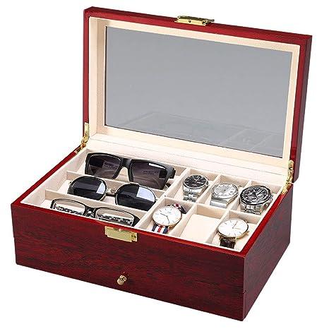 LIYANSBH - Cajas para relojes Mirar gabinetes y Estuches Ver ...