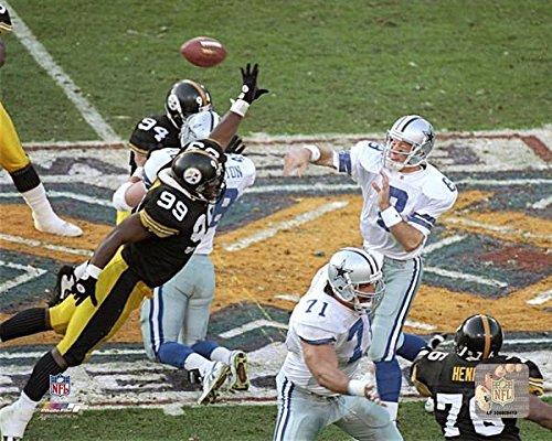 Dallas Cowboys Troy Aikman During Super Bowl XXX 8x10 Photo, ()