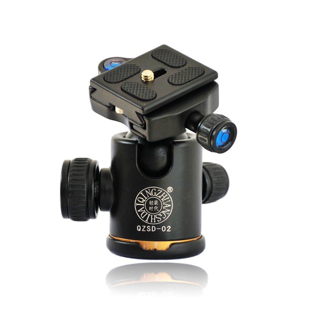 カメラ三脚、55.5-inchデジタルSLRカメラポータブル軽量旅行アルミ製三脚with 360パノラマボールヘッドカメラ用ビデオ YT-4 YT-4  B077Q6KK64