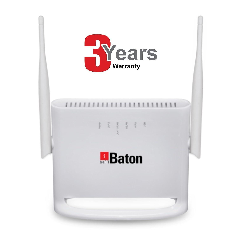 iBall Baton 300N 4G/3G/2G/DSL MIMO Wireless N Dual Wan