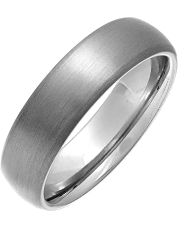 362d0bef67f6 Theia Titanium Matt Finish Court Shape Ring