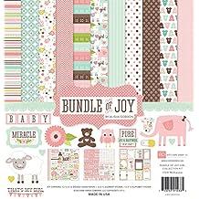 Echo Park Paper Bundle of Joy Girl Collection Scrapbooking Kit