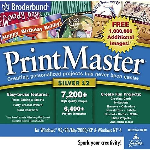 Computer programs software amazon printmaster silver 120 jewel case m4hsunfo