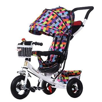 BBZZZ- Trike para niños Adecuado para bebés de 1-5 años, Triciclo para Bicicletas para bebés Trolley para niños pequeños, multifunción: Amazon.es: Deportes ...