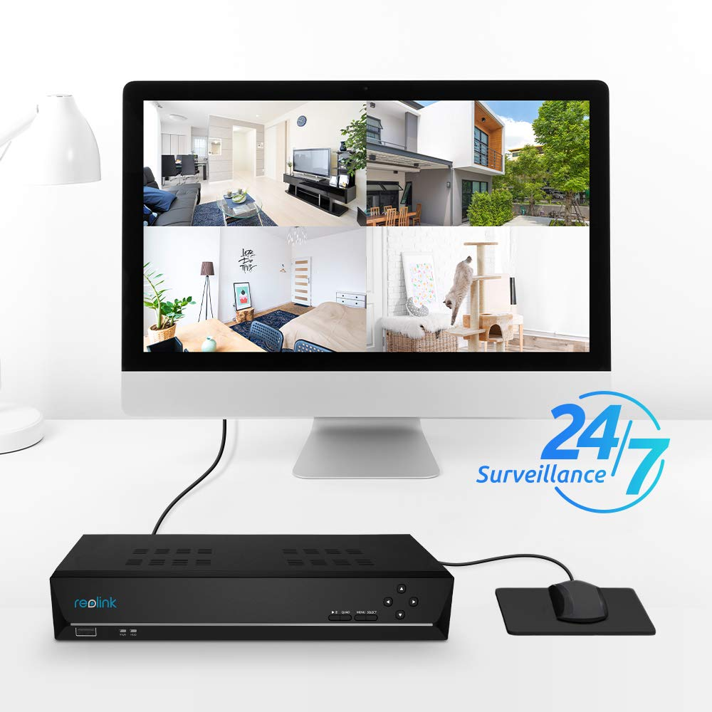 Amazon.com: Reolink - Grabadora de video en red PoE.: Camera ...