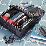 AmazonBasics 4-Piece Packing Cube Set - Slim, Red