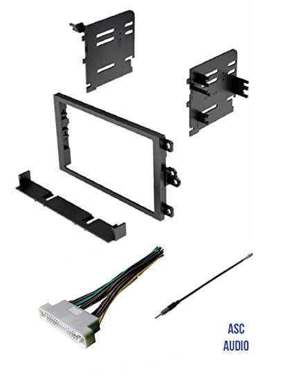 Amazon.com: ASC Car Stereo Dash Kit, Wire Harness, and ... on