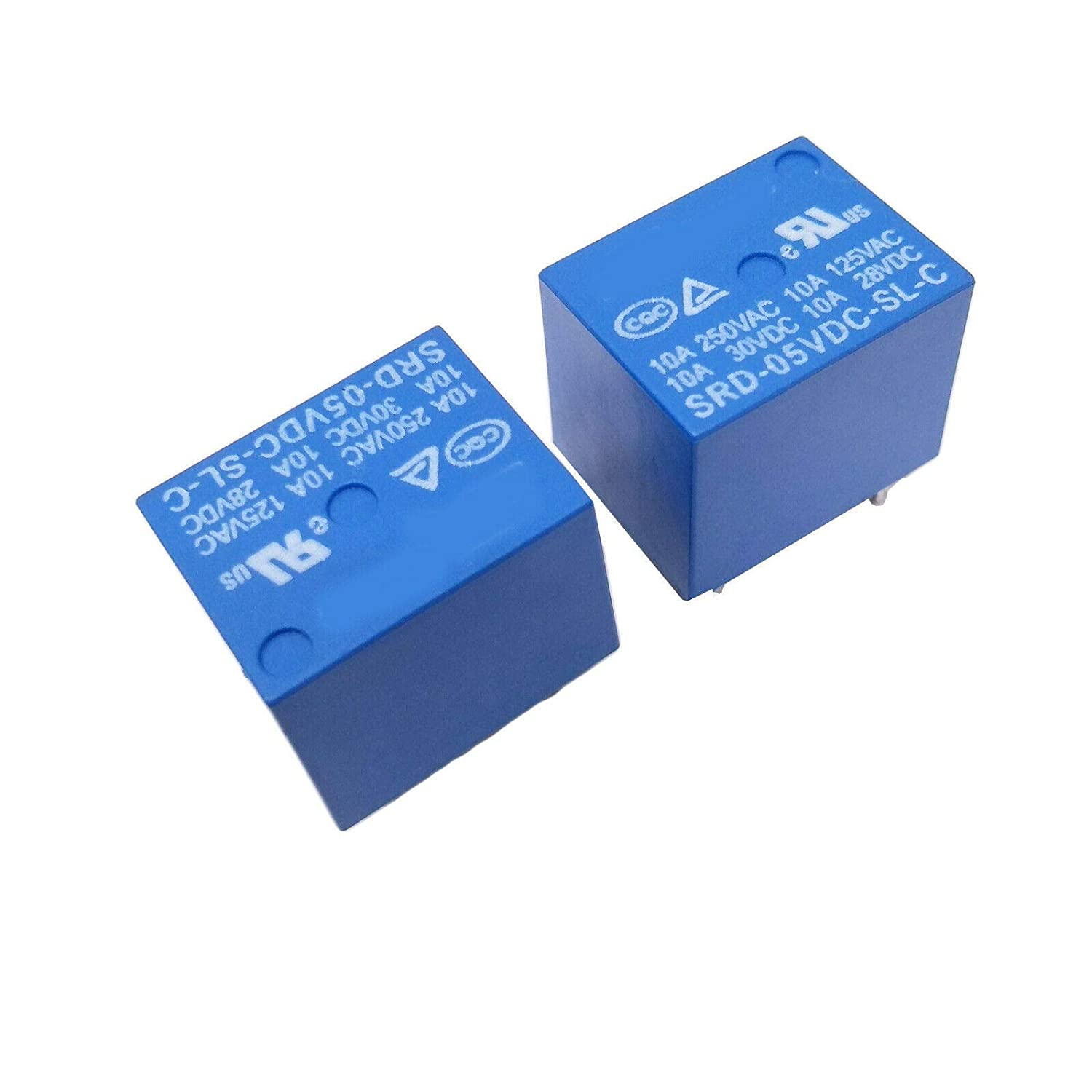 NEW 5pcs Mini Power Relay 5V DC SRD-5VDC-SL-C SRD-5VDC-SL-C PCB
