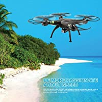 Hanbaili Upgraded X53 Wifi FPV Drone with Camera Live Video,3D Flips LED Lights RC Quadcopter Drone Designed For Selfie