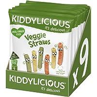 Kiddylicious Veggie straws, 108g (Pack of 9)