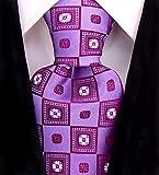 Floral Ties for Men - Woven Necktie - Mens Ties Neck Tie by Scott Allan