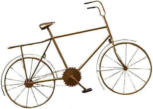 MKJYDM Adorno For Colgar En La Pared, Bicicleta Retro For Colgar ...
