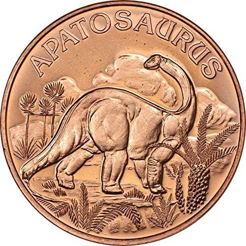 Spinosaurus 1 oz Copper Round