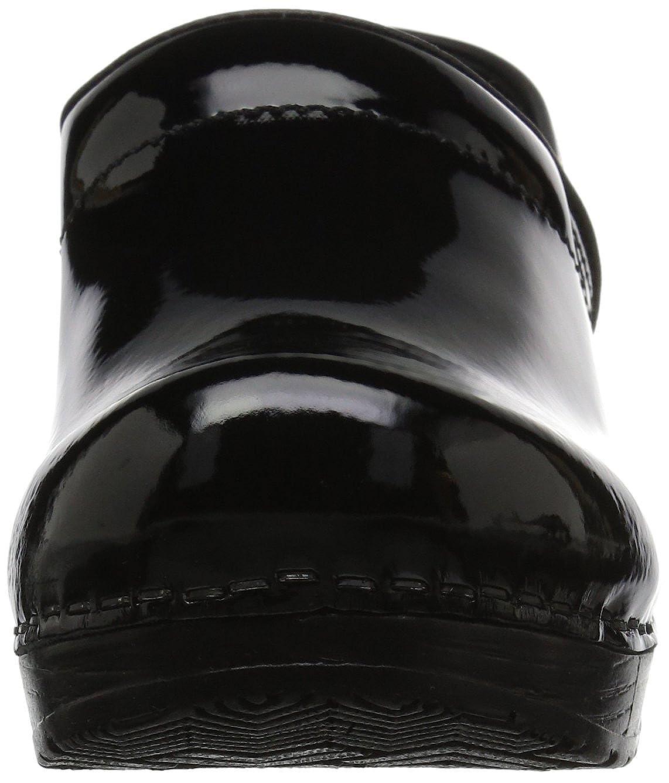 Sanita Patent Wide Black in Patent Leather Professional