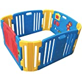 Rainbowtoy Baby Playpen Kids Activity Centre Safety Play Yard Home Indoor Outdoor With 12 Panels