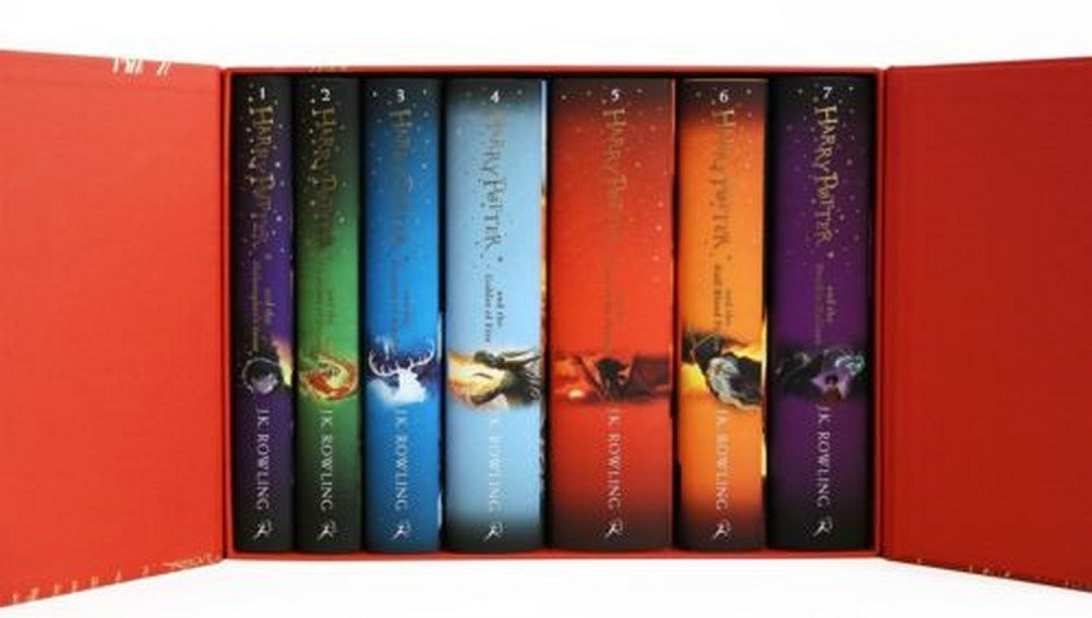 Harry Potter Complete Collection Limited Edition Hardcover All 7 Books Box Set by Generic