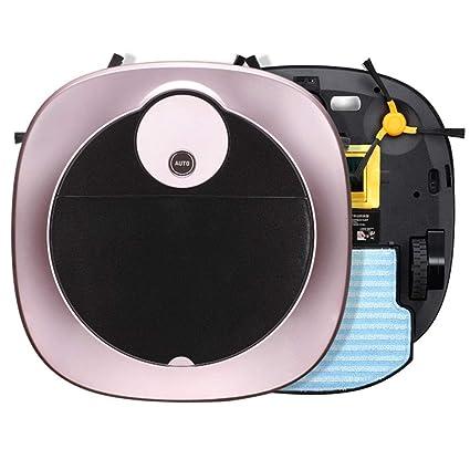 CQL Robot Aspirador, Barrido Inteligente de Alta succión, Caja de Remolque Barrido 1200pa,