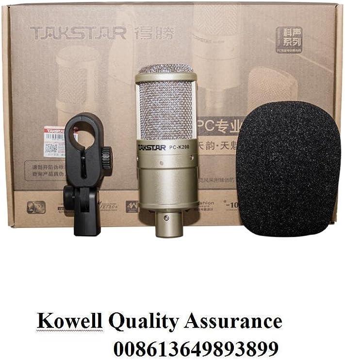 Takstar PC-K200 Microphone + Shock mount Only