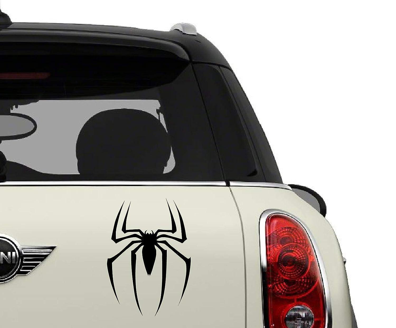 Spiderman Black SCI-FI//Comics//Games Automotive Decal//Bumper Sticker