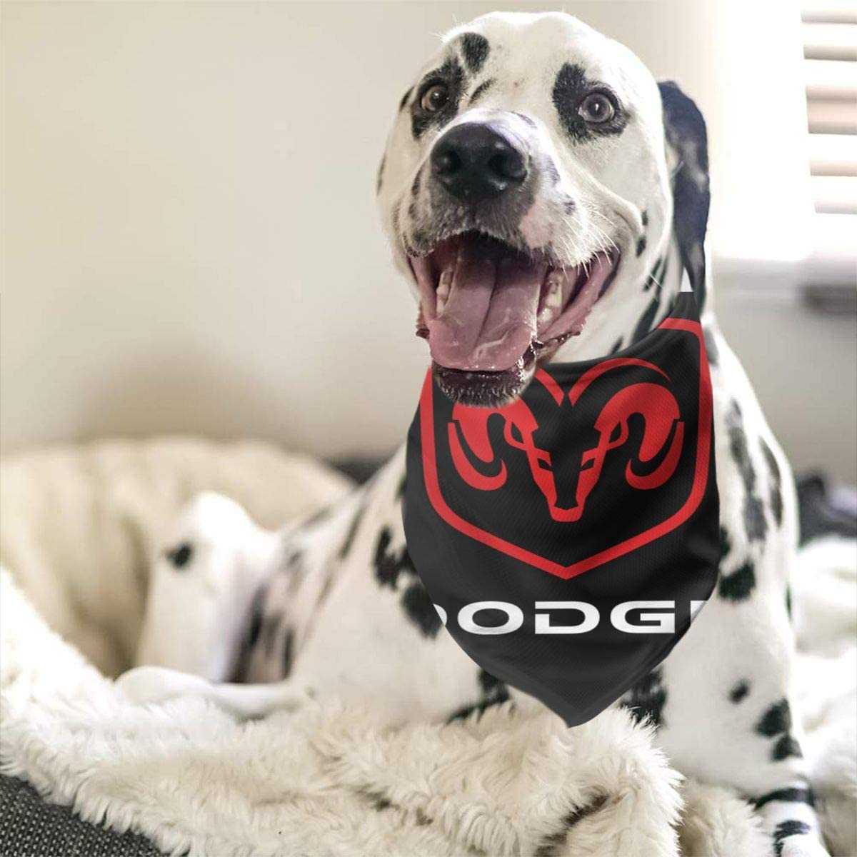 C-JOY Dodge Ram Hemi Dog Bandana Collars Triangle Neckerchief Bibs Scarfs Pet Cats and Baby Puppies Saliva Towel