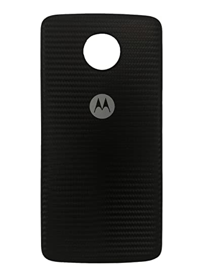 Amazon.com: Moto Mod Style Shell for Motorola Moto Z Phone Case Black Fiber: Cell Phones & Accessories