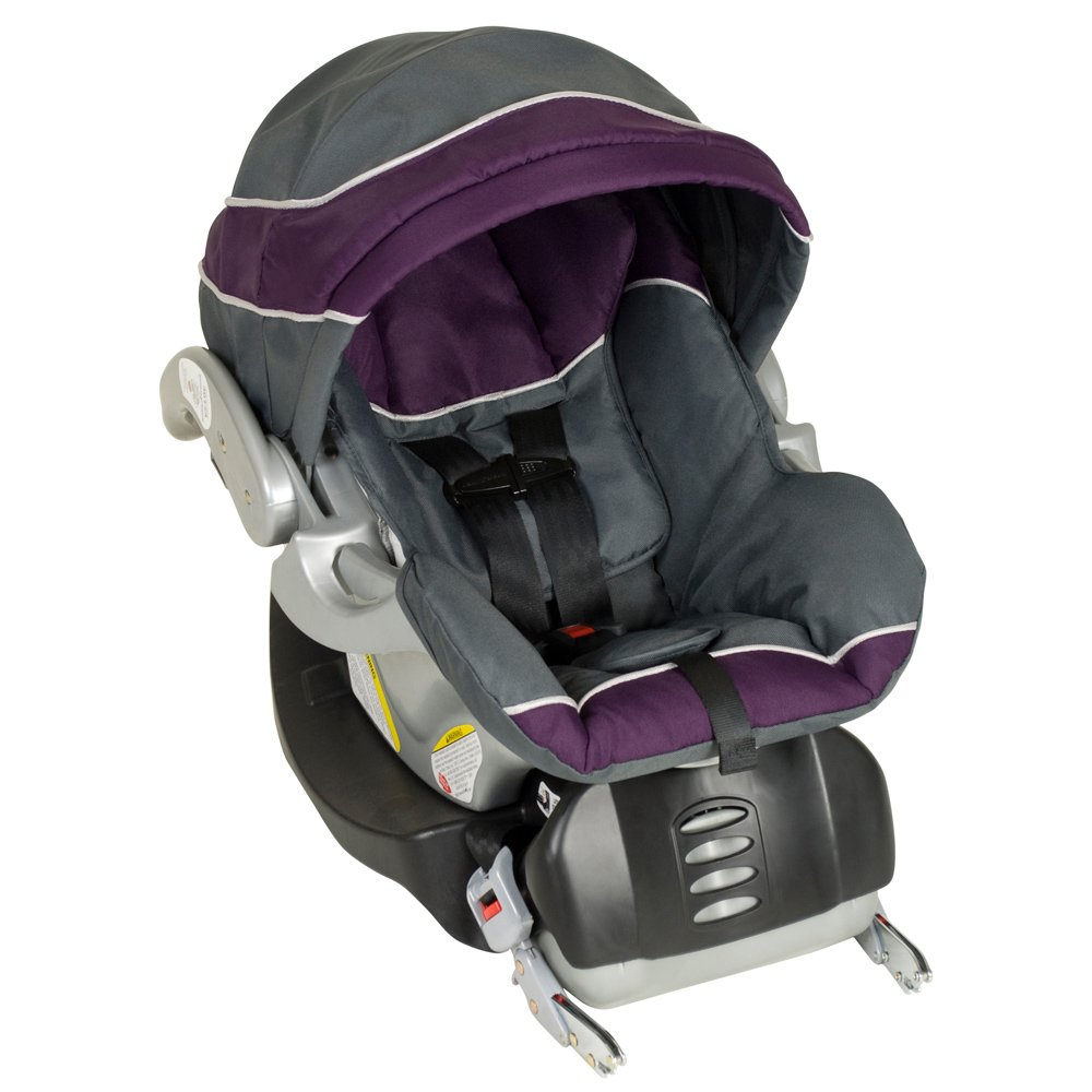 Amazon.com : Baby Trend Flex Loc Infant Car Seat, Elixer : Rear ...