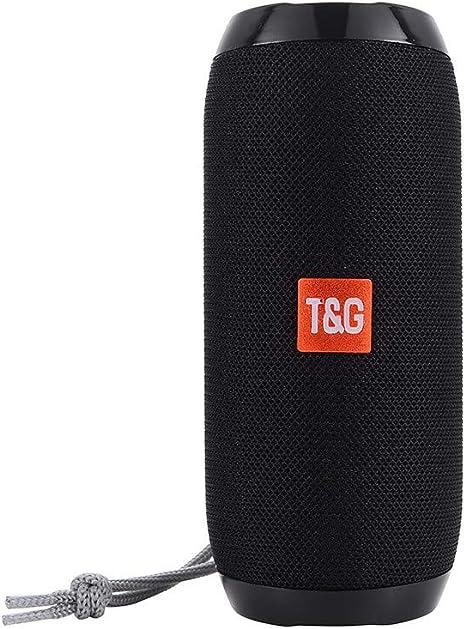 Portable Fabric Bluetooth Wireless Subwoofer Speaker Waterproof Ultra Bass TG117