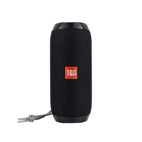 ❄TianranRT❄ Tg 117 Altavoz Bluetooth Inalámbrico Bass Audio Externo Usb/Tf/Fm Radio(E): Amazon.es: Bricolaje y herramientas