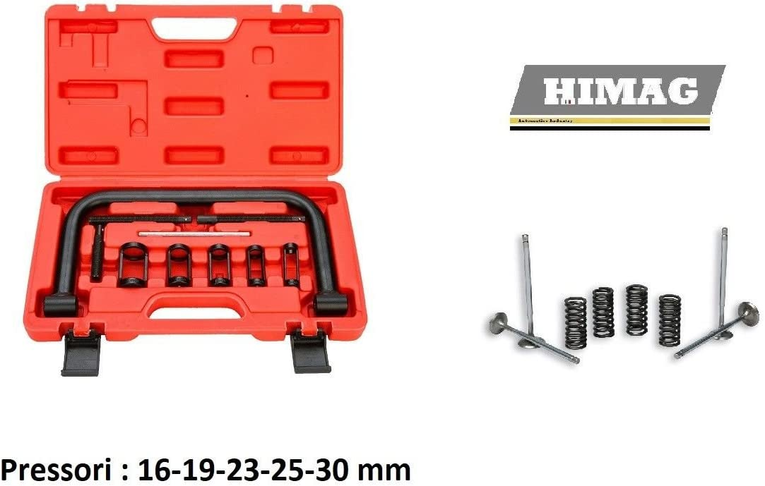HIMAG Compressore Archetto Molle Valvole Comprimimolle Morsetto /Ø 16-30 MM
